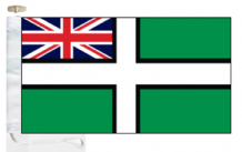 Devon County Ensign Courtesy Boat Flags (Roped and Toggled)